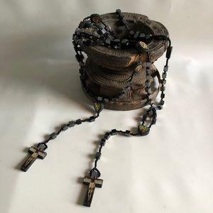 Jewelry - Rosary - Wooden & Acrylic